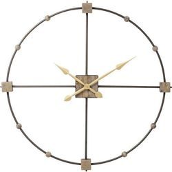 Kare design :: zegar ścienny beam Ø85cm - szary