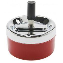 popielniczka classic color czerwona - 7598cze, marki Kare design