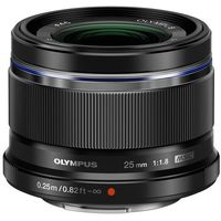 Obiektyw OLYMPUS M.Zuiko Digital 25mm f/1.8 czarny (4545350045869)