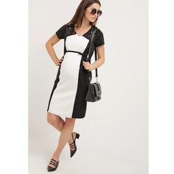 MAMALICIOUS MLFIPPA Sukienka z dżerseju black z kategorii Sukienki ciążowe