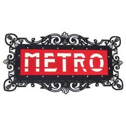 Aldex Kinkiet lampa ścienna arlet metro 2x25w e14 biały / czarny / czerwony 821s5 (5904798637200)