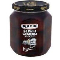 Rolnik Śliwki w occie premium 580 ml  (5900919005576)