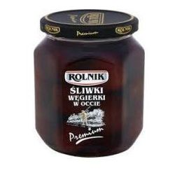Śliwki w occie premium 580 ml Rolnik (przetwór)