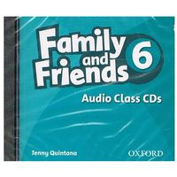 Family and Friends 6: Audio Class CD