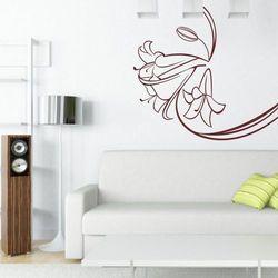 Kwiaty 100 szablon malarski marki Deco-strefa – dekoracje w dobrym stylu