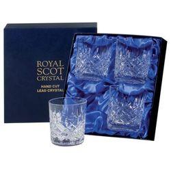Royal Scot Crystal Szklanki London do Whisky 330ml 4szt., LONB4LT