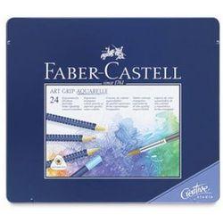 Kredki akwarelowe FABER-CASTELL Art Grip - 24 kolory, towar z kategorii: Kredki akwarelowe