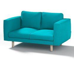 pokrowiec na sofę norsborg 2-osobową, turkus, sofa norsborg 2-osobowa, etna marki Dekoria