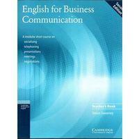English For Business Communication Second Edition Książka Nauczyciela (9780521754507)