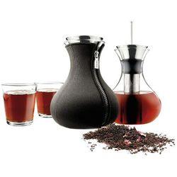 Eva Solo - Zaparzacz do herbaty 1,0 L- neopren czarny + 2 szklanki