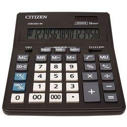 Citizen Kalkulator biurowy cdb1601-bk business line, 16-cyfrowy, 205x155mm, czarny (4562195139256)