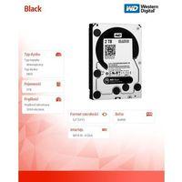 Black wd2003fzex 2tb 64mb sataiii 7200rpm marki Western digital
