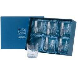 Royal Scot Crystal Szklanki Sapphire do Whisky 210ml 6szt., SAPB6WH