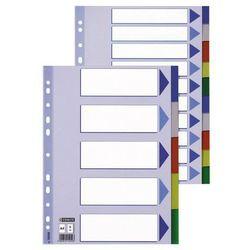 Przekładki indeksujące Esselte A4/12kart, kolor 15262
