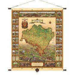 Województwo dolnośląskie mapa ścienna 97x116 cm Pergamena z kategorii mapy
