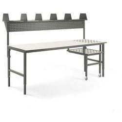 Kompletny stół warsztatowy z rolkami marki Aj produkty