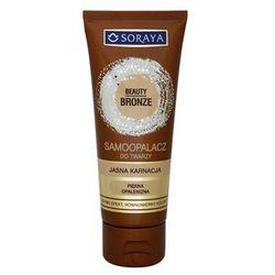 Soraya Beauty Bronze samoopalający krem do twarzy do jasnej skóry - sprawdź w wybranym sklepie