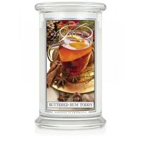 Kringle Candle Świeca Zapachowa - Duża - Buttered Rum Toddy