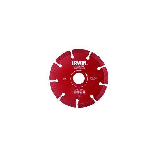 Tarcza diamentowa uniwesalna SEGMENTOWA 115 mm / 22.2 mm, Irwin z e-irwin.pl