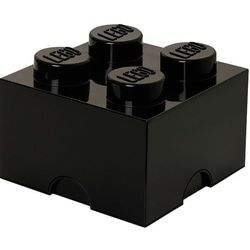 Room copenhagen Pojemnik lego 4 czarny - lego pojemniki