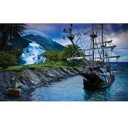 Consalnet Fototapeta bezludna wyspa o zmierzchu 2051