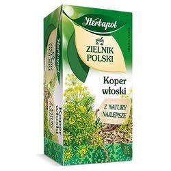 Herbatka ziołowa Zielnik Polski Koper Włoski EX'20 40 g Herbapol, kup u jednego z partnerów