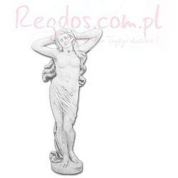 Figura betonowa kobieta w szacie