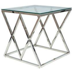 Signal Designerski stolik kawowy ze szklanym blatem zegna b