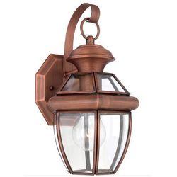 Zewnętrzna LAMPA stojąca OAKMONT FE/OAKMONT3/M Elstead FEISS ogrodowa OPRAWA latarenka tarasowa outdoor IP44 brązowa patyna