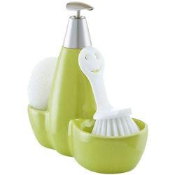 Zestaw kuchenny na akcesoria do mycia naczyń, 3w1, kolor zielony, ZELLER