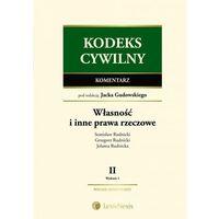 Kodeks cywilny Komentarz Własność i inne prawa rzeczowe Tom II. (ISBN 9788327803245)