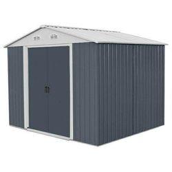 Hecht czechy Hecht 12x10 plus domek narzedziowy ogrodowy na narzędzia ciemnoszary wiata meble ogrodowe 367 x 301 cm - ewimax oficjalny dystrybutor - autoryzowany dealer hecht (8595614924320)