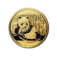 1/10 Uncji Chińska Panda - Złota Moneta Bulionowa Rocznik 2015