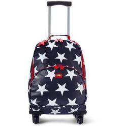 Penny Scallan Design, walizka na czterech kółkach, granatowa w gwiazdki od Smyk