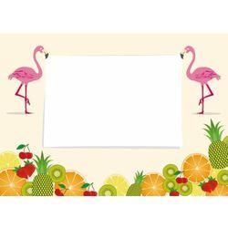 Tablica magnetyczna suchościeralna flamingi 402 marki Wally - piękno dekoracji