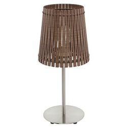Eglo Sendero 96203 lampa nocna  drewno