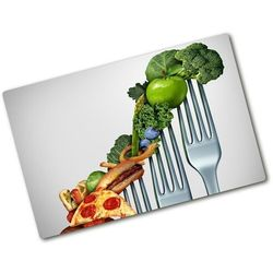 Deska kuchenna duża szklana Postępy w diecie