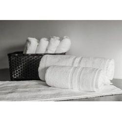Slevo Ręcznik hotelowy myjka lux 500 gr/m2 33x33 cm biały 100% bawełny egipskiej