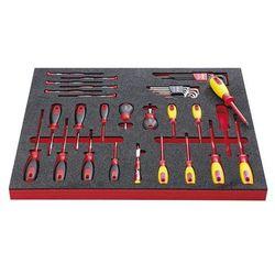 Vigor Zestaw narzędzi electronic,wkrętak elektroniczny i wyposażenie dodatkowe, 39-częściowy, we wkładce z twardej pianki