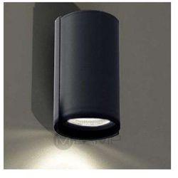 Kinkiet lampa ścienna ozu 4403/gu10/cz  minimalistyczna oprawa okrągła czarny marki Shilo