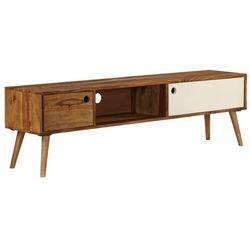 Vidaxl szafka pod telewizor, 140x50x35 cm, lite drewno sheesham (8718475602903)