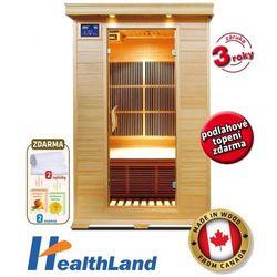 V-Garden Infrasauna Healthland DeLUXE 2002 CARBON (8595557902560)