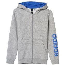 Bluza adidas Essentials Linear Full Zip Hoodie Junior BP8744, kup u jednego z partnerów
