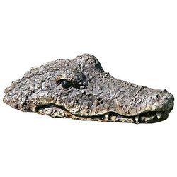 Aligator krokodyl do oczka wodnego 32cm królik vintage biały