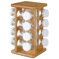 Zestaw pojemników na przyprawy, bamboo - 17 elementów w komplecie (3560239441717)