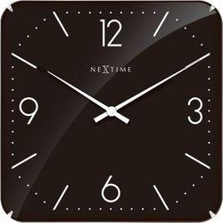 Nextime Zegar ścienny 3175 basic square dome 35x35cm