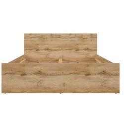 łóżko 140 Zele, S383-LOZ/140-DWO