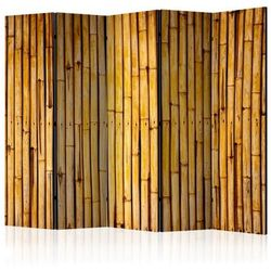 Parawan do mieszkania 5-częściowy - Bambusowy ogród II 225 szer. 172 wys.