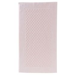Dywanik łazienkowy MAIA elementy Swarovski 50x90 cm Różowy, 4066