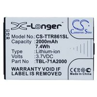 TP-Link M5350 / TBL-71A2000 2000mAh 7.40Wh Li-Ion 3.7V (Cameron Sino), CS-TTR861SL